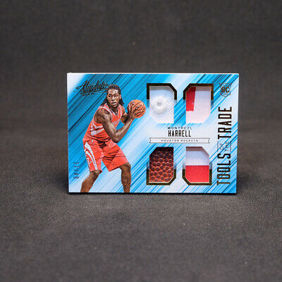 AU36.75 • Buy 2015-16 Montrezl Harrell - Absolute Tools Of The Trade Quad Patch Rookie /49