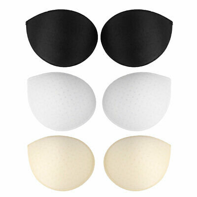 £5.35 • Buy 1 Pair Womens Bra Inserts Pads Removable Push Up Sponge Foam Paded Replacement
