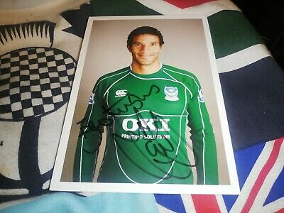 £21.63 • Buy David James Hand Signed Portsmouth Fc Autograph Card