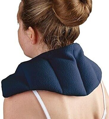 £9.99 • Buy Heat Pad Therapy Neck Shoulder Back Thermal Microwaveable Bag Warmer Wheat Pain