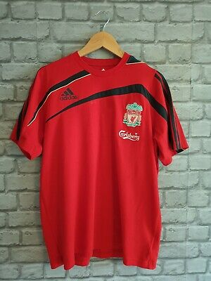 Liverpool FC Adidas Carlsberg Football Training T-shirt 2006/10 42/44   • 7.99£