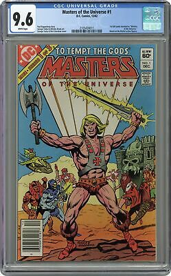 $340 • Buy Masters Of The Universe #1 CGC 9.6 1982 2105434011