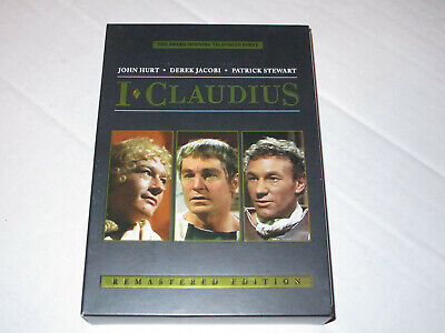 I, Claudius 4-disc Remastered Edition Dvd Set Used    • 21.27£