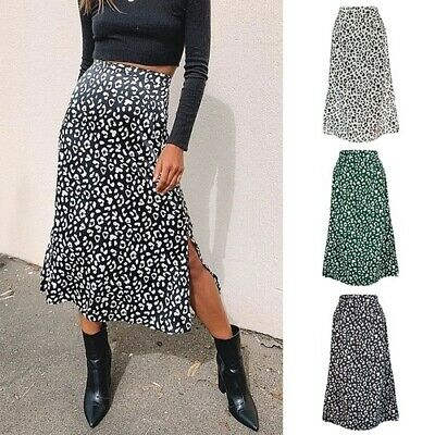 Sexy Leopard Wrap Skirt Print Skirt Casual Fashion Long Skirts For Women Spring • 21.53£