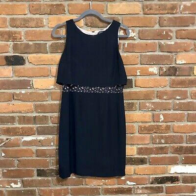 $ CDN63.30 • Buy Ivanka Trump Navy Career Dress Size 8