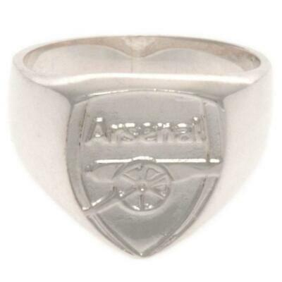 £29.95 • Buy Arsenal FC Sterling Silver Ring Medium Official Licensed Product
