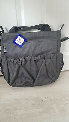 Grey Baby Diaper Nappy Changing Bag Fits Bugaboo, Stokke, Icandy ! 01 • 17.50£