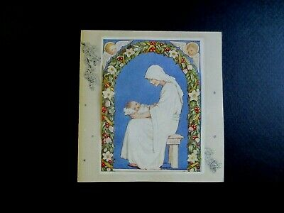 Vintage Unused Margaret Tarrant Xmas Greeting Card Beautiful Madonna & Child  • 26.05£