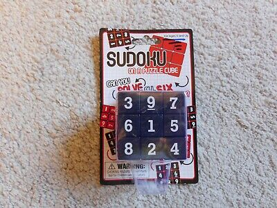 SUDOKU On A PUZZLE CUBE - NEW • 12£
