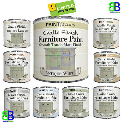 £5.85 • Buy 9 Colors Chalk Finish Furniture Paint Wax Lacquer Smooth Touch & Matt Finish DIY