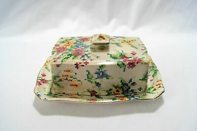 $ CDN25.32 • Buy Vintage Royal Winton Grimwades Chintz Queen Anne Butter Dish