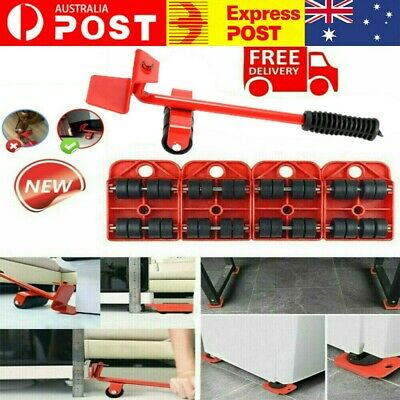 AU16.99 • Buy Furniture Lifter Heavy Roller Move Tool Set Moving Wheel Mover Sliders Kit AU