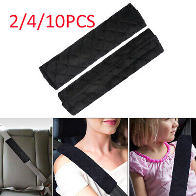 2/4/10X Car Seat Belt Cover Pads Cushion Covers Strap Safety Pad For Adults Kids • 5.12£