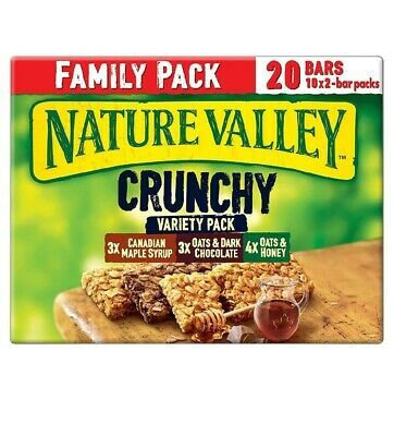 £7.99 • Buy Nature Valley Crunchy Variety Family Pack Cereal Bars, 420 G**Free Delivery