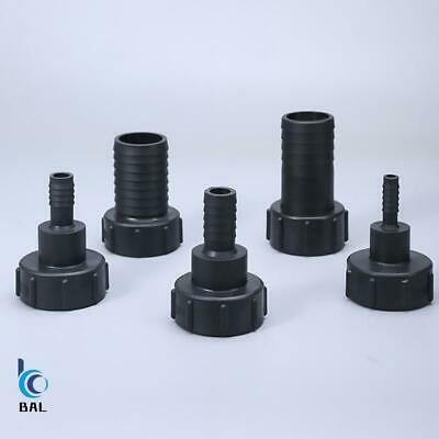 1/2  3/4  1  1.5  2  Thread IBC Tank Adapter Tap Connector Water Tank Fitting • 8.66£