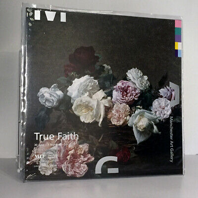 £270 • Buy New Order - Power Corruption & Lies - True Faith Silver Vinyl - Sealed With PVC