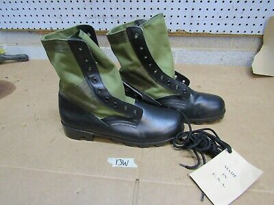 $35 • Buy US GI Military Green Jungle Combat Boots US MADE {13W}