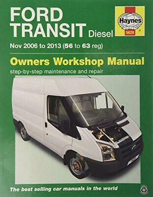Ford Transit Diesel Service And Repair Manual: 2006 To 2013 (Haynes Service And  • 19.84£