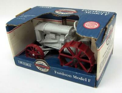 £43.50 • Buy 1/16th Diecast Fordson Model F Wide Front Tractor On Red Steel 301 ZFN301DO