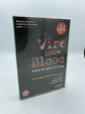 £5.95 • Buy Wire In The Blood - Series 3-4 - Complete (DVD, 2008, 4-Disc Set, Box Set)