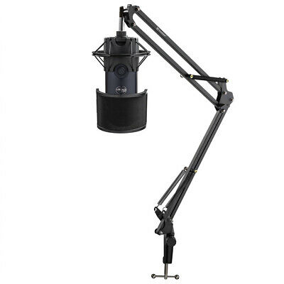 BLUE Microphones Yeti X USB Microphone Dark Gray With Boom Arm And Mount Bundle • 150.20£