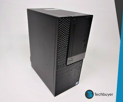 DELL Optiplex 7040 MT I5 6500 8GB Ram 256GB SSD Windows 10 Pro Mini Tower PC • 249.99£