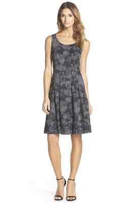 $ CDN57.60 • Buy Ivanka Trump Floral Jacquard Fit & Flare Dress 179$