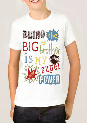 Im Going To Be A Big Brother T-Shirt Kids Children T Shirt Announcement Gift  • 4.99£