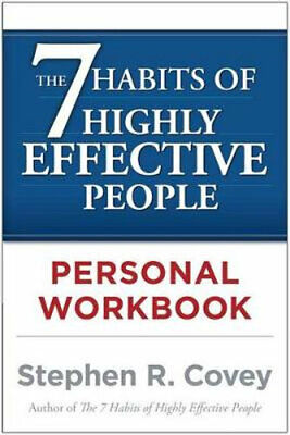 AU22.50 • Buy NEW The 7 Habits Of Highly Effective People: Personal Workbook By Stephen R. Cov