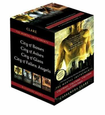 The Mortal Instruments By Cassandra Clare 4 Volume Box Set - Brand New • 21.27£