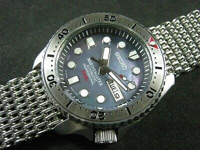 $ CDN441.91 • Buy SEIKO SKX007 Mod MM 300 Blue Mother Pearl Dial NH36 Water Proof Tested  A1 Cond