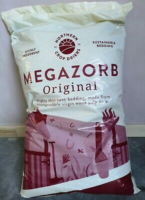 £15.89 • Buy Megazorb Horse And Animal Bedding 85 Litre - Free UPS Next Day Delivery