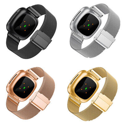 $ CDN8.80 • Buy Stainless Steel Metal Band Mesh Bracelet Replacement For Fitbit Versa 3