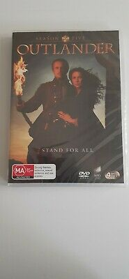 AU25 • Buy Outlander : Season  5 ( Dvd - 4 Disc Set - Region 4 -aus)  New & Sealed $25
