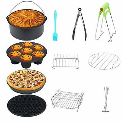 AU59.54 • Buy 11 Pcs XL Air Fryer Accessories 8 Inch For Philips,Gowise,Cozyna Air Fryer,