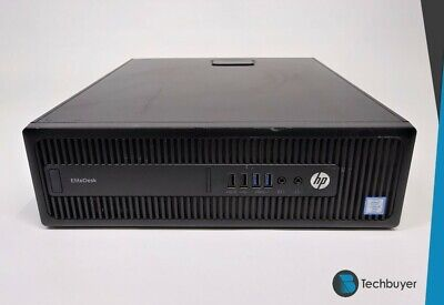 HP EliteDesk 800 G2 SFF I5 6500 CPU 8GB Ram 256GB SSD Windows 10 Pro Desktop PC • 199.99£