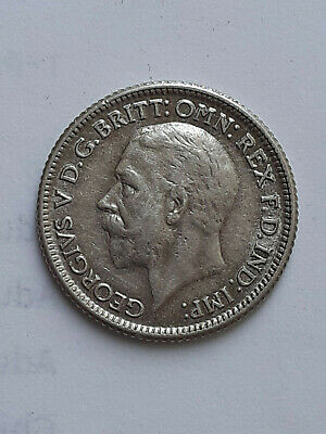 £9.99 • Buy 1929  Silver Sixpence 6d  George V  Excellent Condition