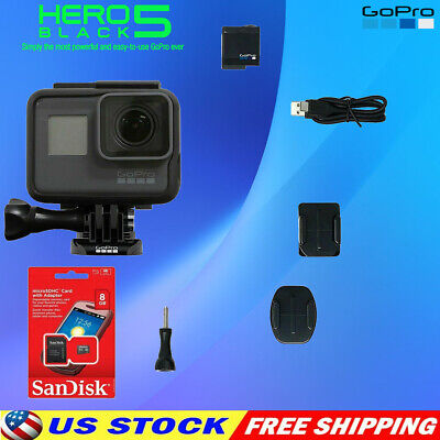 $ CDN263.67 • Buy GOPRO Hero 5 Black Edition Wasserdicht Sport Action Kamera Mit Touch Screen