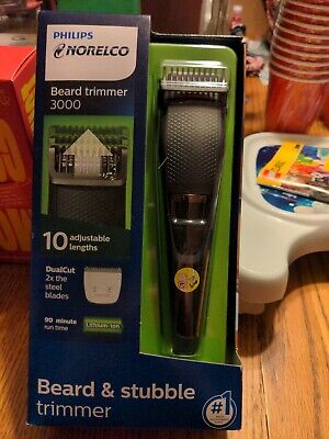 AU30.03 • Buy Philips Norelco Beard & Stubble Trimmer 3000
