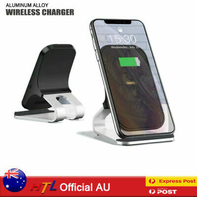 AU23.92 • Buy AU Qi Fast Wireless Charger Charging Dock Stand For IPhone 12 11 Pro Max Samsung