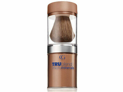 Tru Blend Microminerals 500 Natural Bronzer Mineral Glow Loose Powder And Brush  • 5.99£