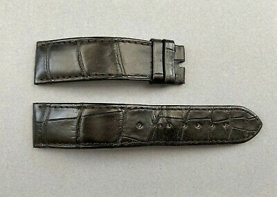 Genuine Omega Black Alligator Leather Watch Strap - 20mm • 120£