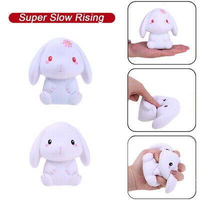 AU12.82 • Buy Squishies Adorable Rabbit Slow Rising Cream Squeeze Scented Stress Relief Toys