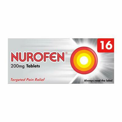 Nurofen Targeted Pain Relief Tablets 200mg - 16 • 4.42£