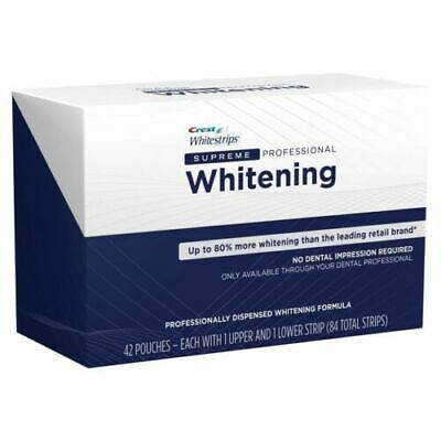 AU67.97 • Buy Crest Whitestrips Supreme Professional Whitening 21 Pouches, 42 Strips