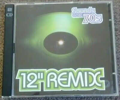 Various - Sounds Of The 70's Seventies: 12  Inch Remix (Time Life 2 CD, 2003) • 44.99£