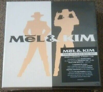 Mel & Kim - The Singles Box Set Deluxe And Definitive 75 Tracks On 7 CDs (2019) • 32.79£