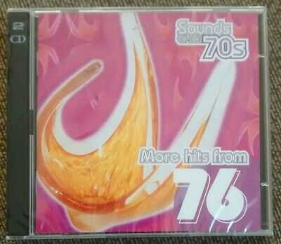 Various - Sounds Of The 70s: More Hits From 1976 (Time Life 2 CD Set, 2000) *New • 24.99£