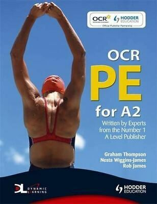 £4 • Buy OCR PE For A2 ETextbook, Thompson, Graham, Like New, Paperback