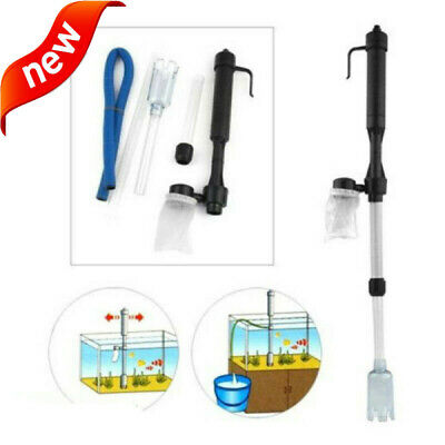 AU12.99 • Buy Vacuum NEW Aquarium Fish Tank Cleaner Pump Tools Siphon Cleaning Water Sand AU